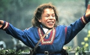 Warwick Davis. sometime you have to play a killer leprechaun for ten years to finally land the role of a charms master at Hogwarts school of wizardry.