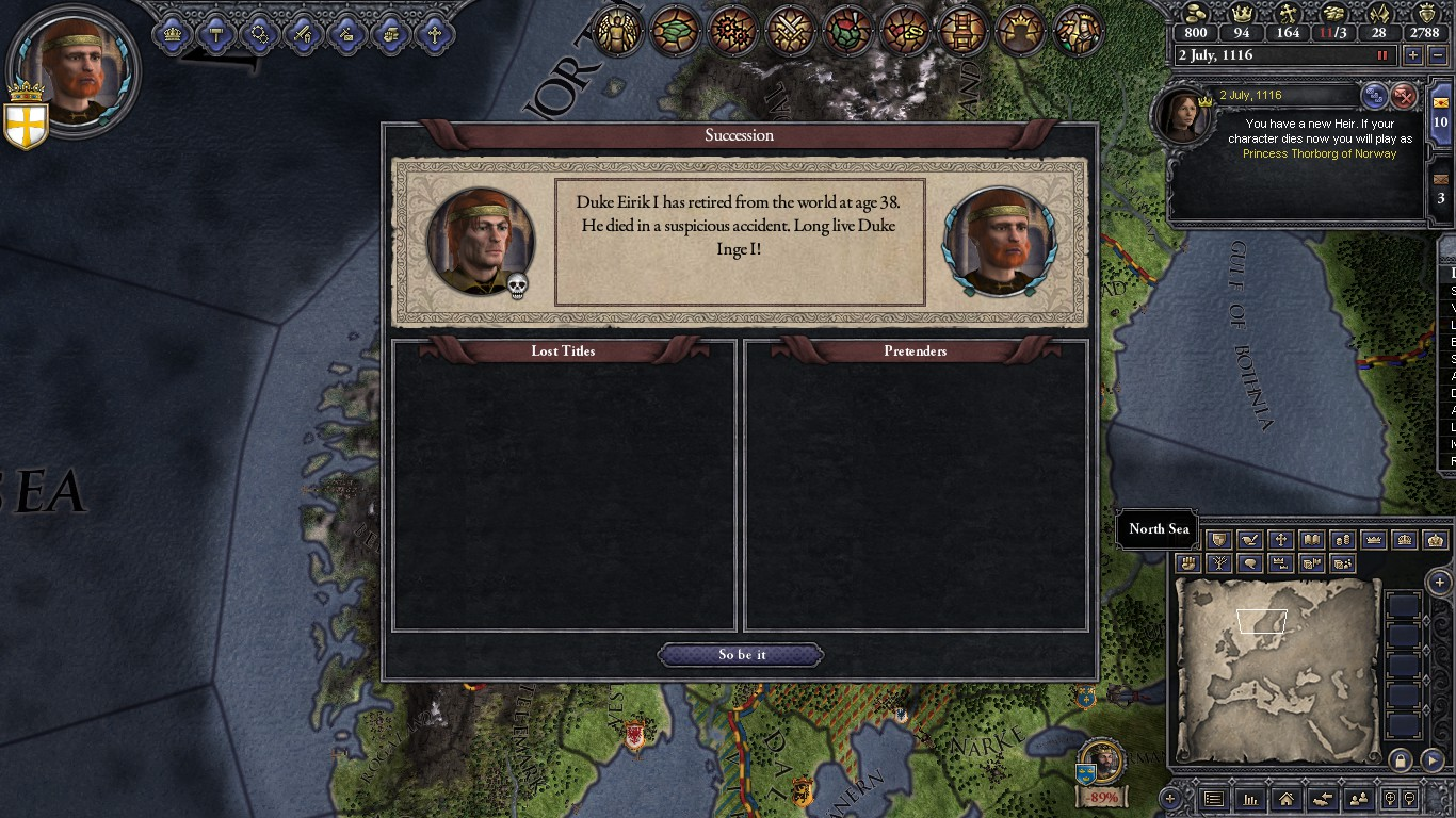 Crusader Kings - Screenshot