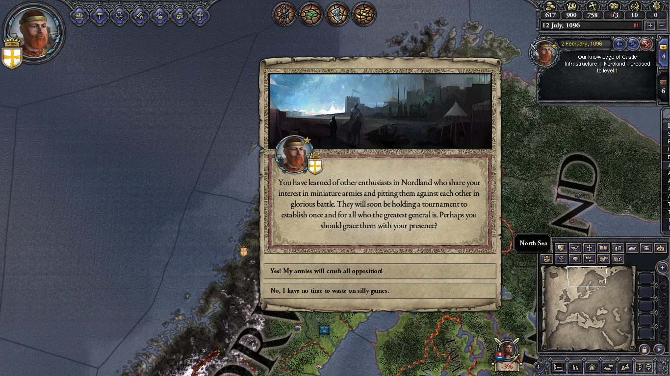 Crusader Kings II - Screenshot