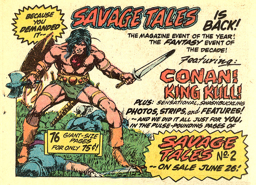 Savage Tales of Conan the Barbarian