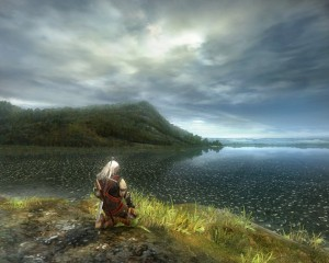 Even today, 6 years on, The Witcher is still a decent looking game.