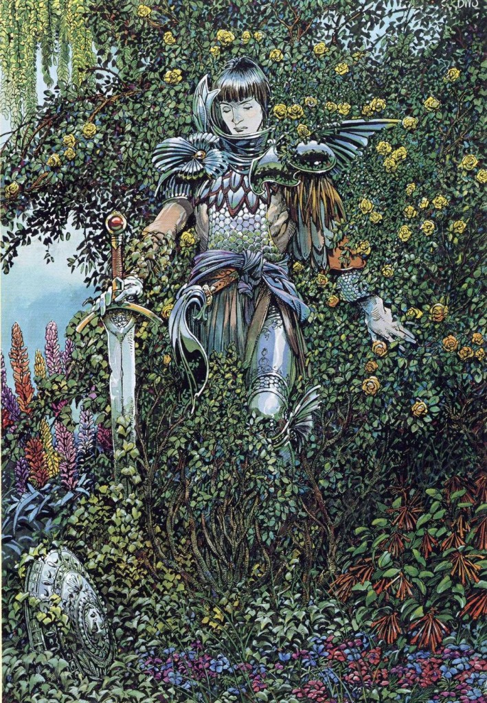 Fantasy Art: BEGUILED by Barry Windsor Smith