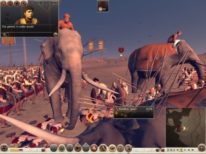 Elephant Veterans were a big problem in Carthage, because they can never forget TO KILL