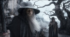 Say what you want but two old wizards traveling into the depths of darkness and evil only to square off against the budding form of evil incarnate is pretty fucking awesome.