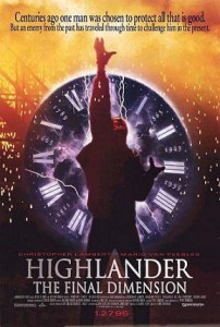 Film Review: HIGHLANDER 3: The Final Dimension