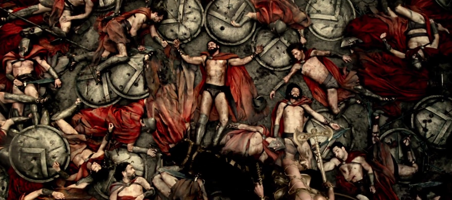 300 Rise of an Empire Edit In 300 Rise of an Empire more of Xerxes past is revealed Ten years ago prior to the first flim Xerxes is a prince while his father King Darius leads the Persians to attack Greece