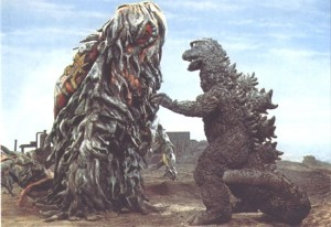 Was this is in the new film? No. Would it have been awesome if it was? Of course. If you ever get tired of character development just focus your attention on the slime monster named Hedorah.