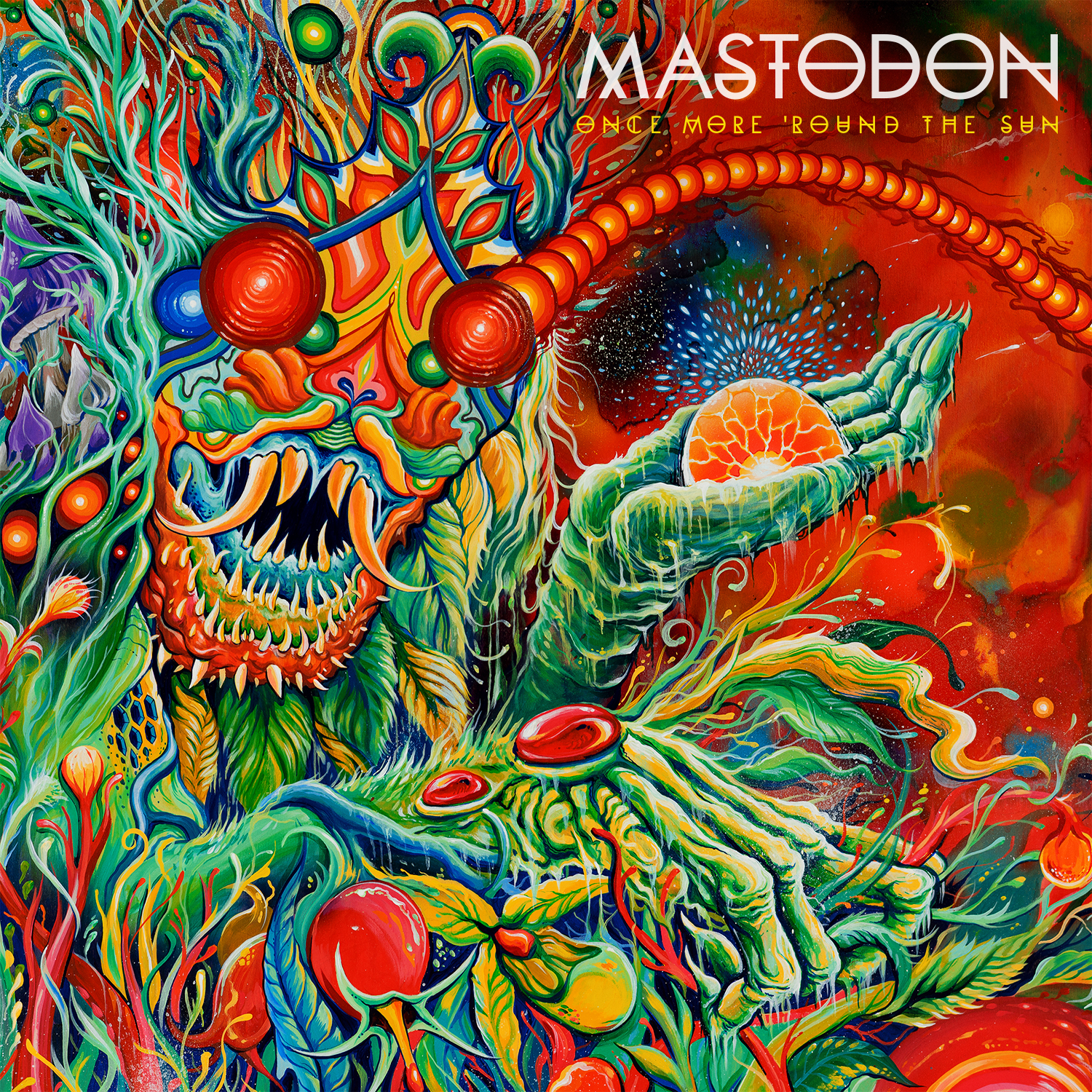 MASTODON – Once More 'Round the Sun