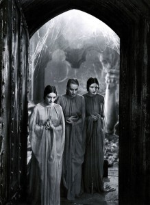 The weird sisters or brides of Dracula represent worlds of mystery due to their nonexistent role in the story. They also bring up some really weird questions of vampiric incest and polygammy.