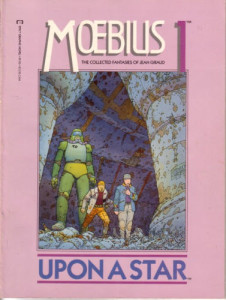 comic review: MOEBIUS VOLUME 1: UPON A STAR (1987)