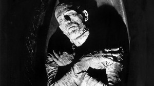 Get a good look because the iconic Mummy in a sarcophagus only really happens at the beginning of the film.