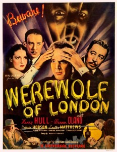 film review: WEREWOLF OF LONDON (1935)