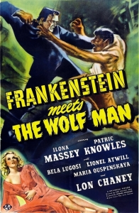 film review: FRANKENSTEIN MEETS THE WOLF MAN (1943)