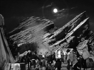 I am imagining a more interesting film taking place entirely on the moonlight landscape of Tibet.