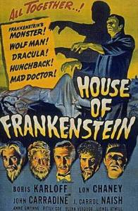 film review: HOUSE OF FRANKENSTEIN (1944)