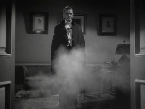 Awww shit, son, did you just make Dracula appear out of smoke on screen? Nice.