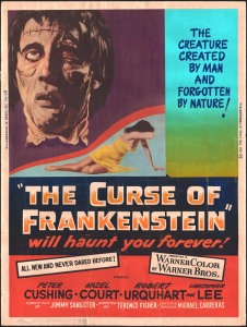 film review: THE CURSE OF FRANKENSTEIN (1957)