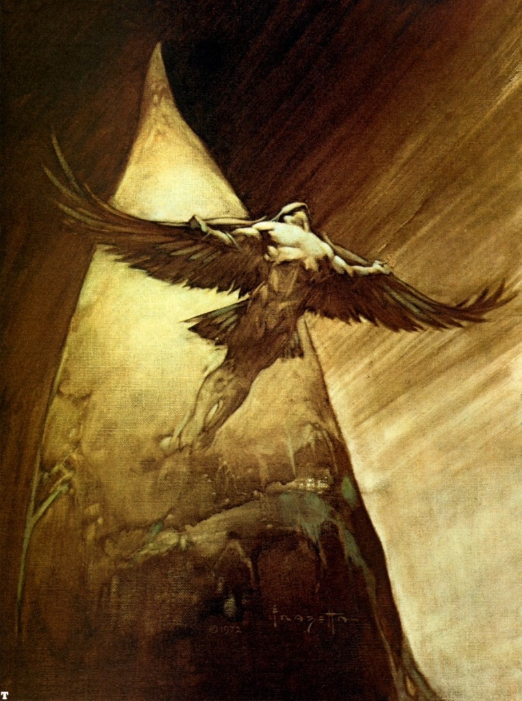 Frank Frazetta - Birdman (1972) -- This has nothing to do with the article.