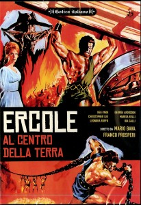 film review: HERCULES IN THE HAUNTED WORLD [Ercole al centro della terra]  (1961)