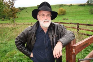 Terry Pratchett spent an alarming amount of time looking like an amicable wizard, probably because he was one.