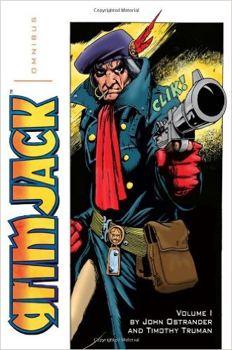 IDW PUBLISHING (2010) Omnibus Edition collecting the stories from Starslayer issues #10-17 and GrimJack issues #1-13, as originally published by First Comics between 1983 and 1985.