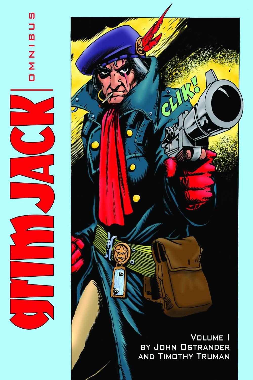 Grimjack Omnibus Cover