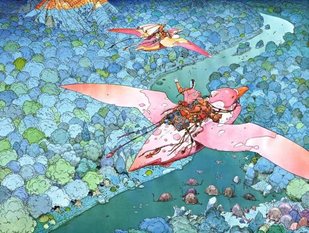 Fantasy Art: ARZACH by Jean Henri Gaston Giraud (Moebius)
