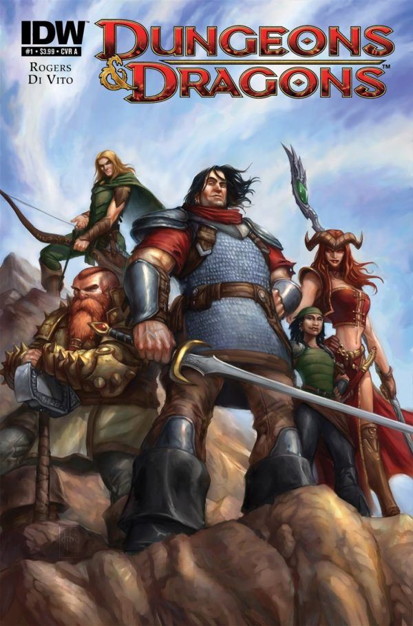 Dungeons and Dragons Comic Book 2010