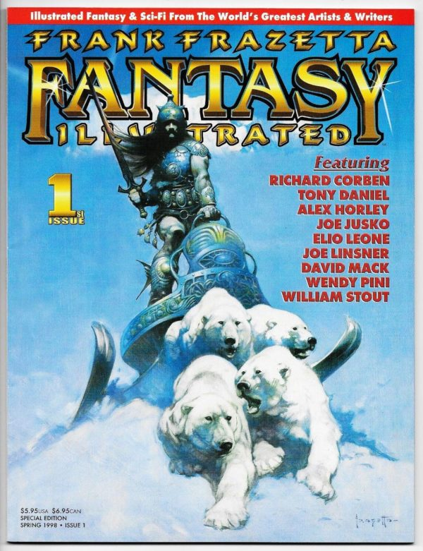 FRANK FRAZETTA FANTASY ILLUSTRATED #1 - Full