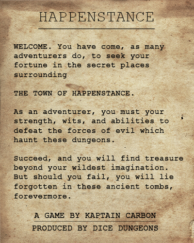 Pledges of Happenstance