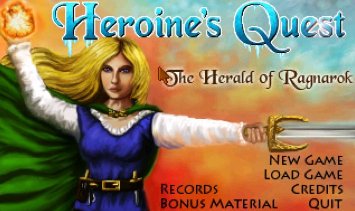 HEROINE'S QUEST – The Herald Of Ragnarok