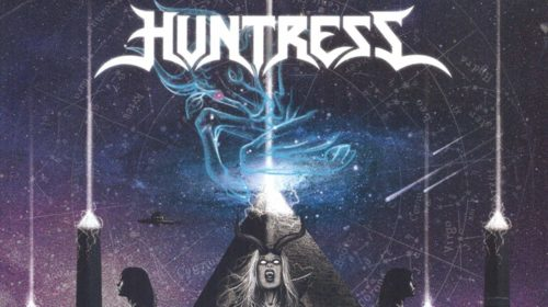 Huntress - Starbound Beast (Front Cover)