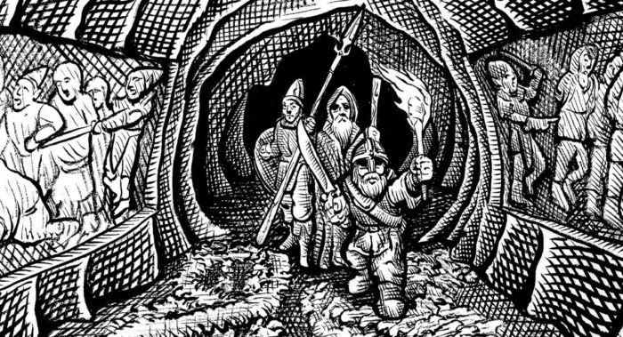 Dark Basements: Swords & Wizardry in Play by Post