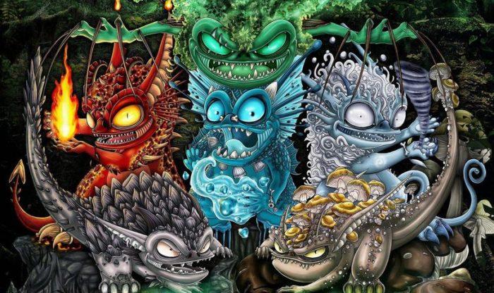 SVARTBY – Elemental Tales