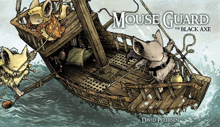 MOUSE GUARD – The Black Axe