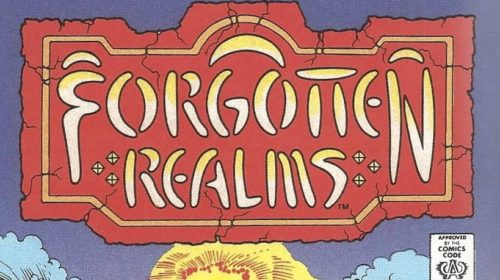 Forgotten Realms Comic Book