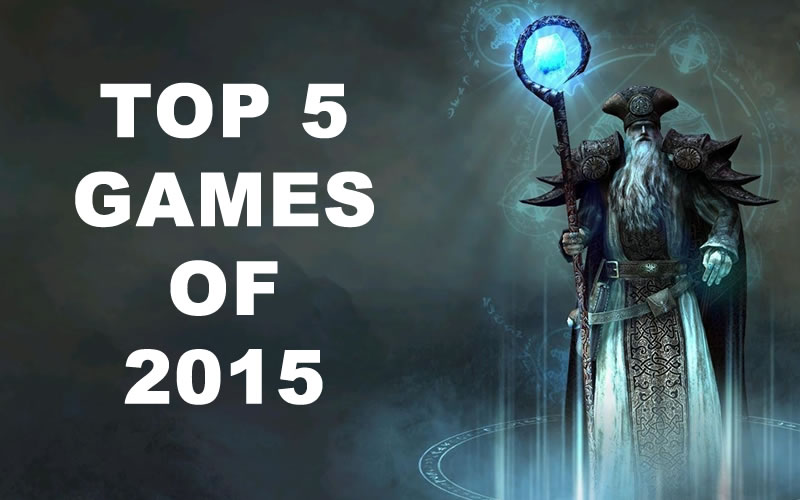 The Hollywood Metal Top 5 games of 2015