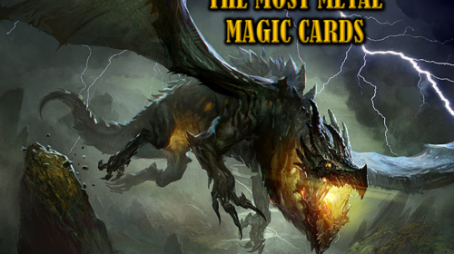 The Most Metal Magic Cards