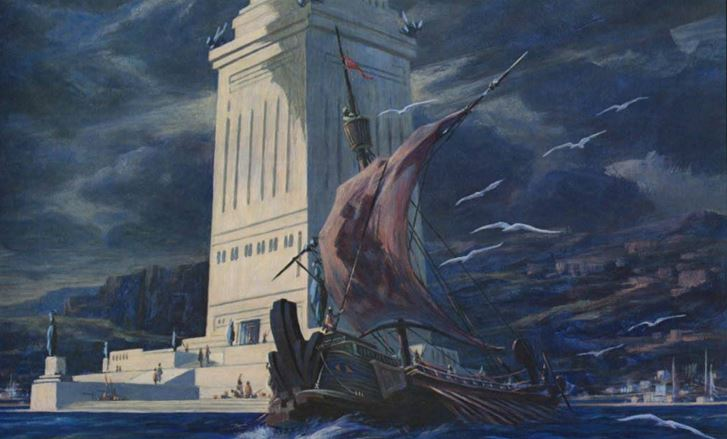 THE PHAROS AT ALEXANDRIA (1975) – Roy Krenkel