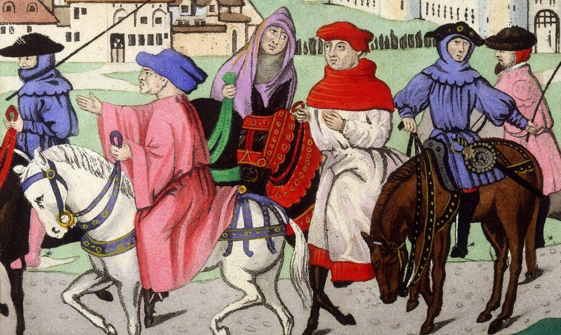 pilgrims from canterbury tales