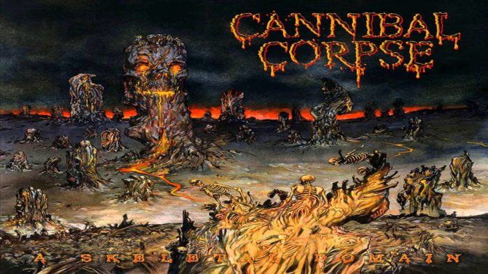 CANNIBAL CORPSE – Skeletal domain