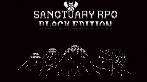 sanctuary RPG black edition