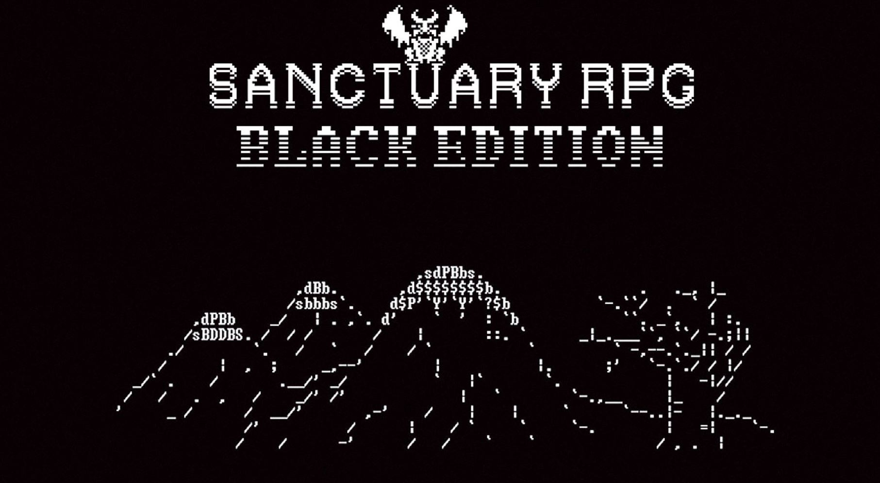 SANCTUARY – BLACK EDITION