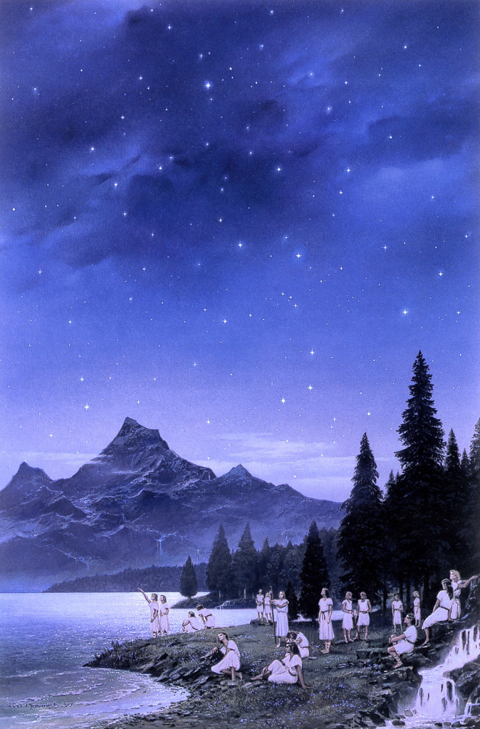 Ted Nasmith -  Of the Coming of the Elves and the Captivity of Melkor