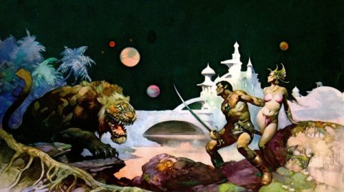 thuvia maid of mars frazetta