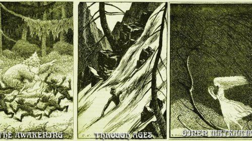 The Sleeping Green - track illustrations