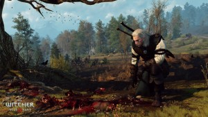 Honestly, most of the people Geralt sets out to rescue end up like this. It's a wonder they don't start arranging funerals the moment anyone nips to the outhouse.